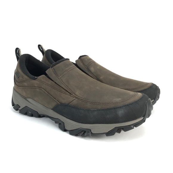 04f8f83e3cc Merrell Mens Coldpack Ice + Moc Slip On Shoes